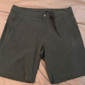 GREY men's Lululemon shorts. NEW WITH TAGS